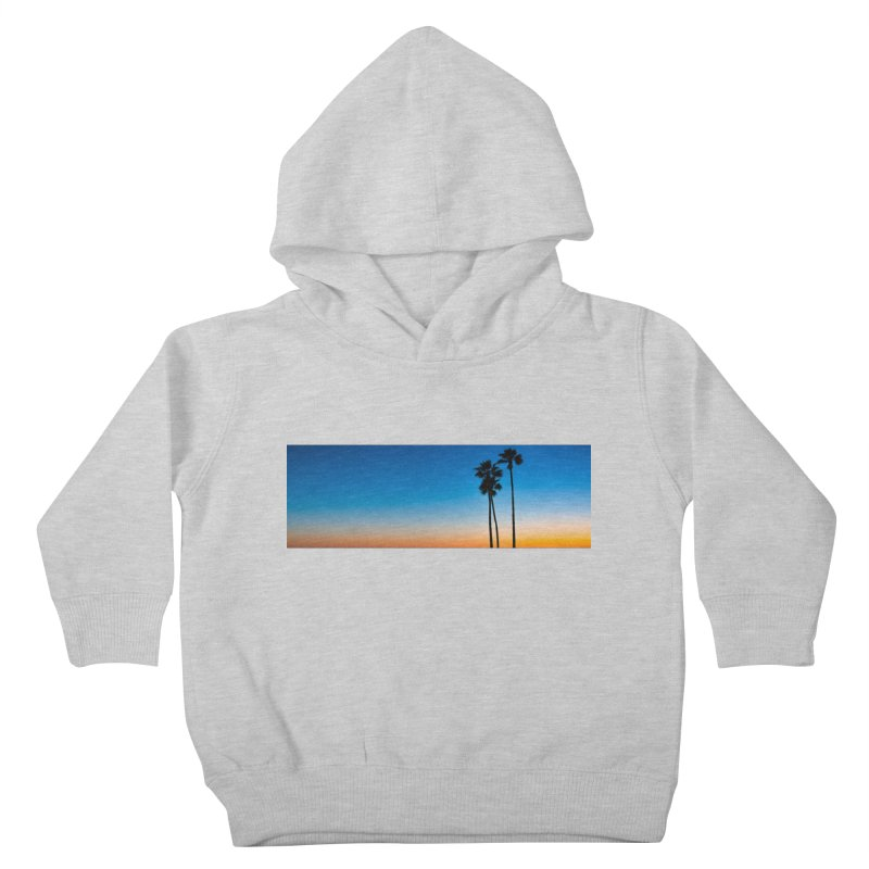 Sunset on the Island Kids Toddler Pullover Hoody by Gary Mc Alea Photography's Artist Shop