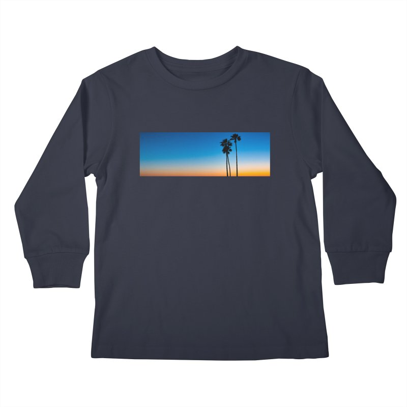Sunset on the Island Kids Longsleeve T-Shirt by Gary Mc Alea Photography's Artist Shop