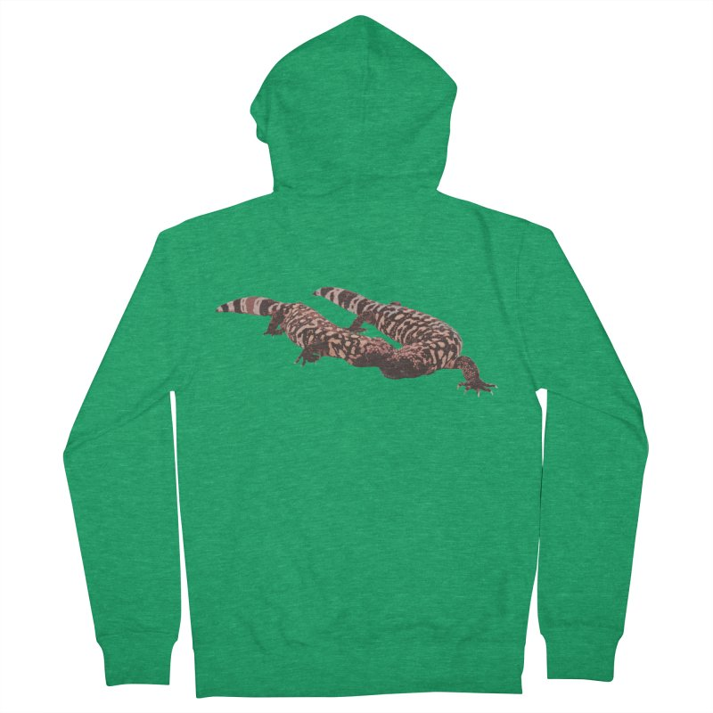 Gila Monsters Men's Zip-Up Hoody by Gary Mc Alea Photography's Artist Shop