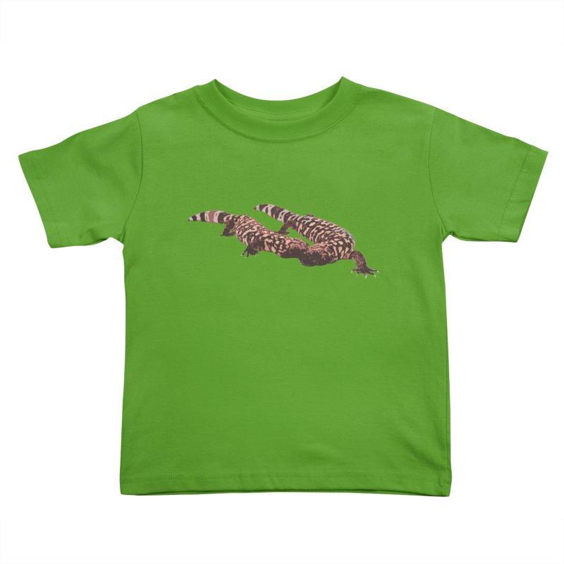 Gila Monsters Kids Toddler T-Shirt by Gary Mc Alea Photography's Artist Shop
