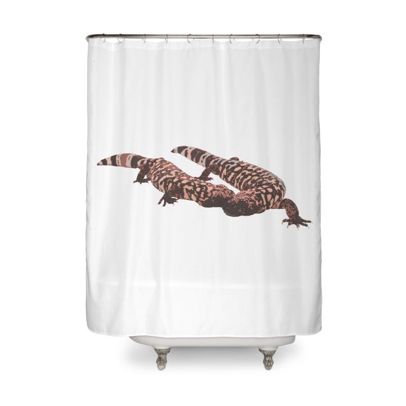 Gila Monsters Home Shower Curtain by Gary Mc Alea Photography's Artist Shop