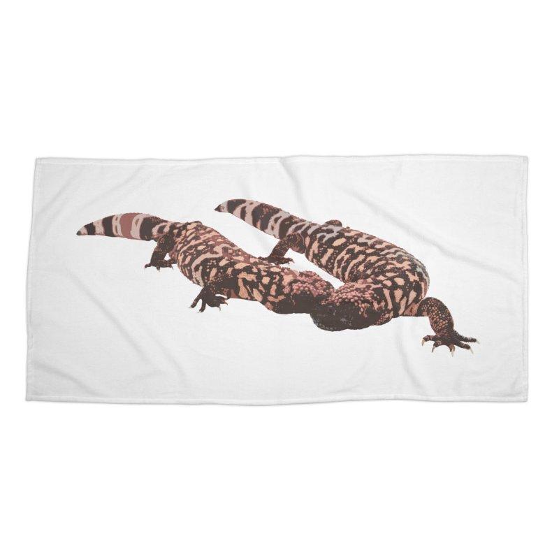 Gila Monsters Accessories Beach Towel by Gary Mc Alea Photography's Artist Shop