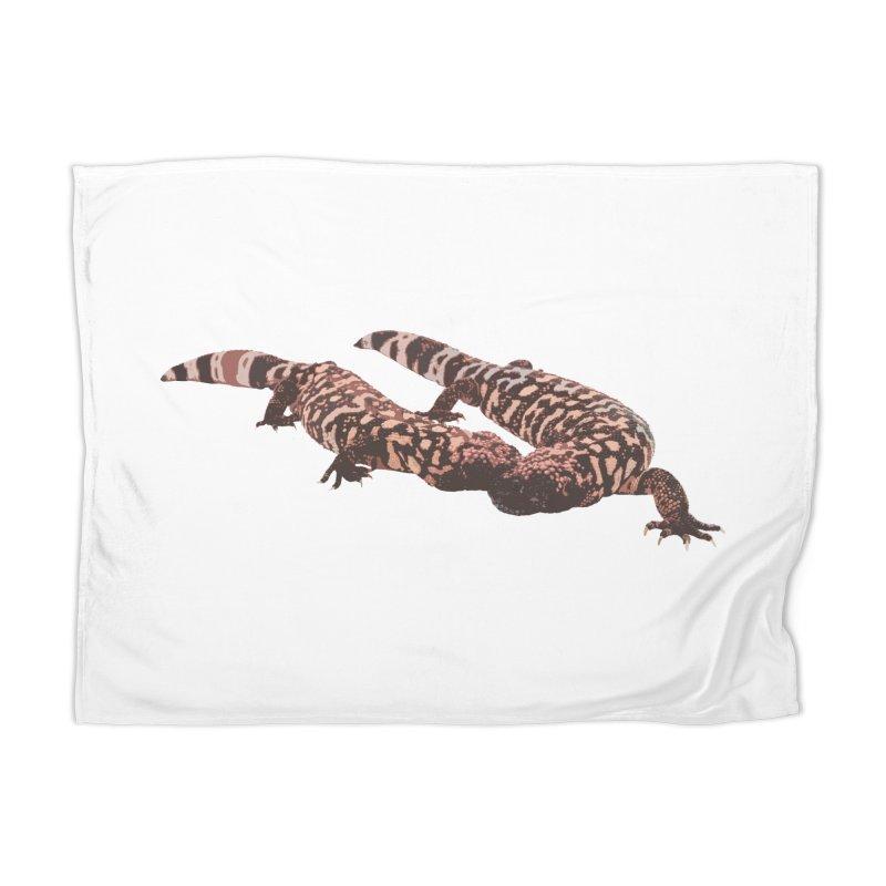 Gila Monsters Home Blanket by Gary Mc Alea Photography's Artist Shop