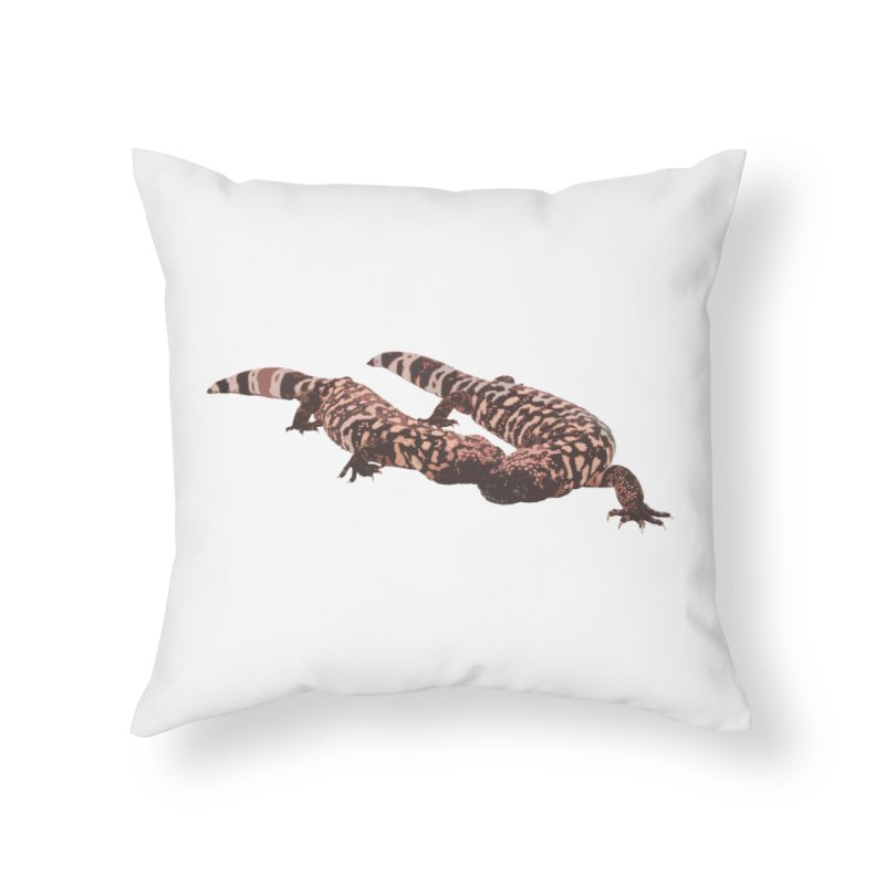 Gila Monsters Home Throw Pillow by Gary Mc Alea Photography's Artist Shop