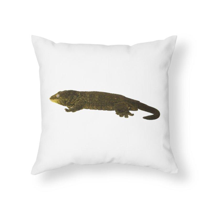 Leachianus Gecko Home Throw Pillow by Gary Mc Alea Photography's Artist Shop