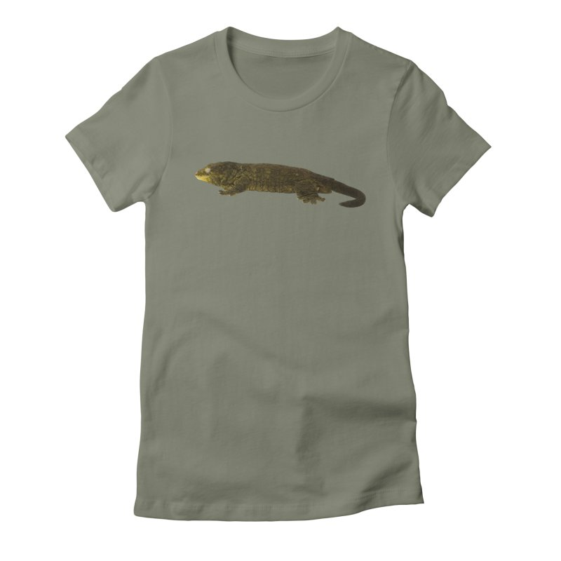 Leachianus Gecko Women's T-Shirt by Gary Mc Alea Photography's Artist Shop