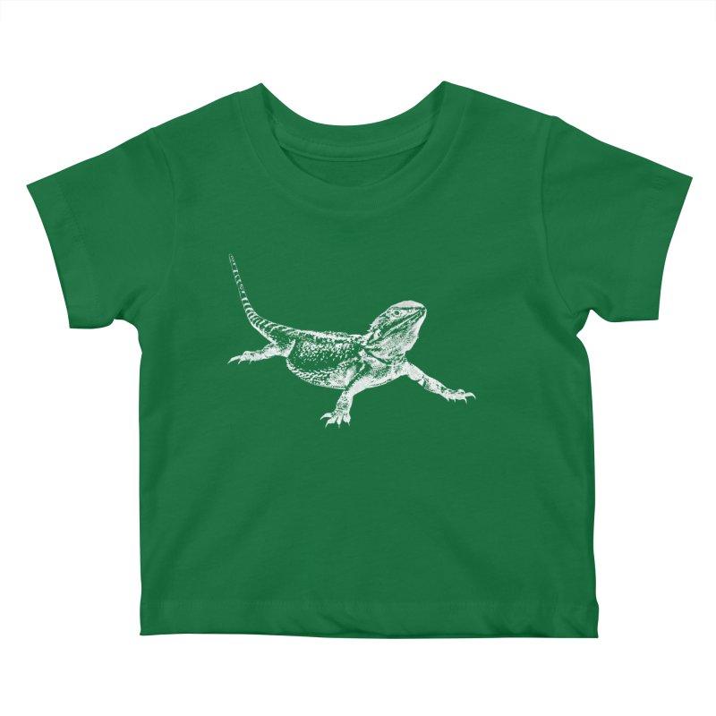 Bearded Dragon Kids Baby T-Shirt by Gary Mc Alea Photography's Artist Shop