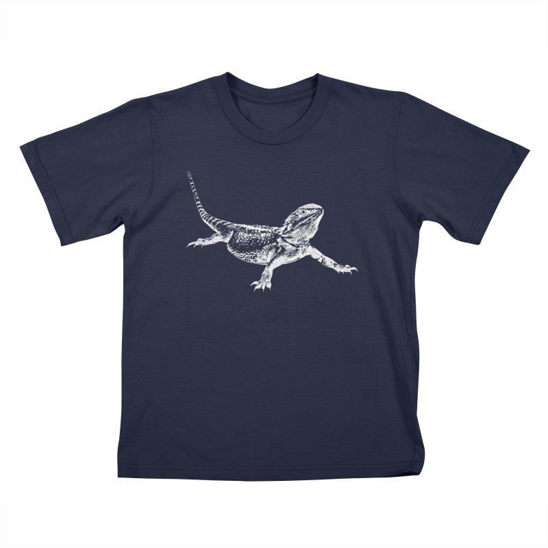 Bearded Dragon Kids T-Shirt by Gary Mc Alea Photography's Artist Shop