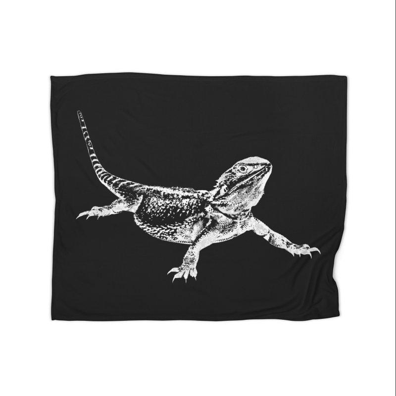 Bearded Dragon Home Blanket by Gary Mc Alea Photography's Artist Shop