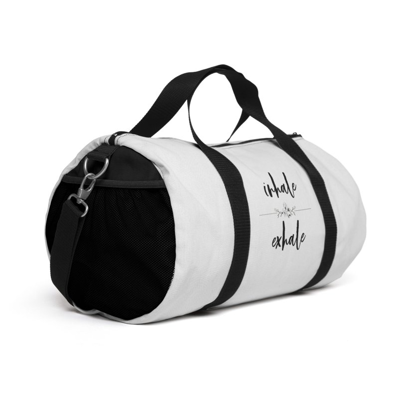 INHALE Accessories Bag by gasponce