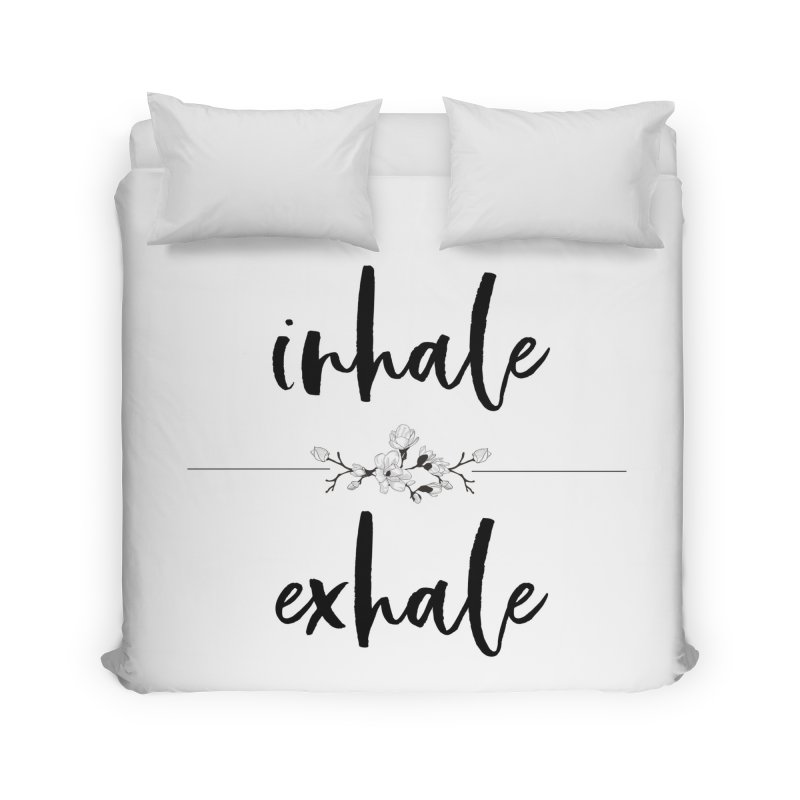 INHALE Home Duvet by gasponce