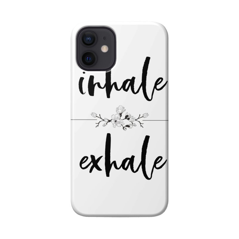 INHALE Accessories Phone Case by gasponce
