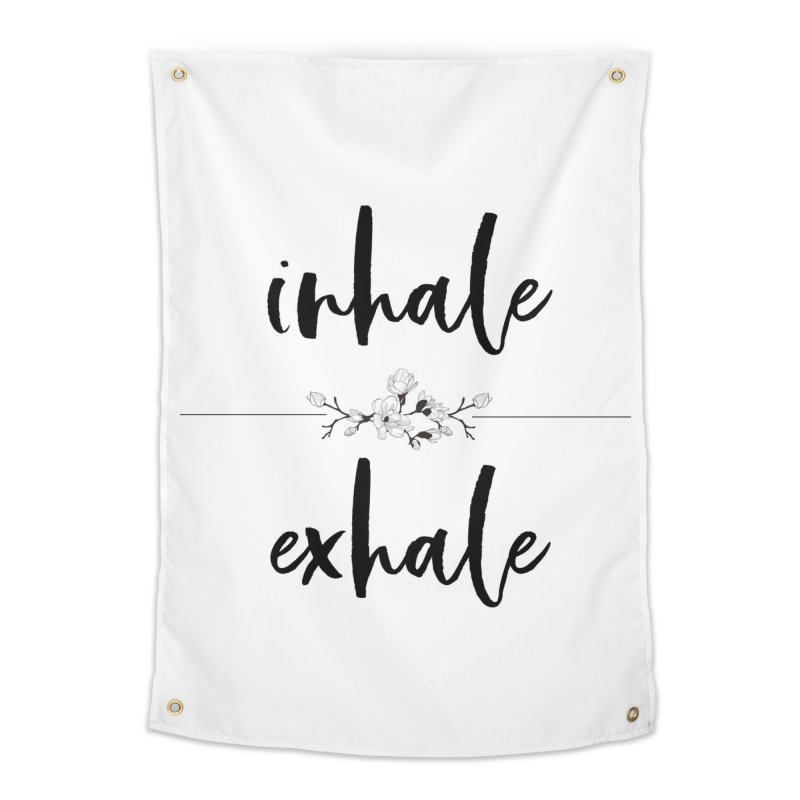 INHALE Home Tapestry by gasponce