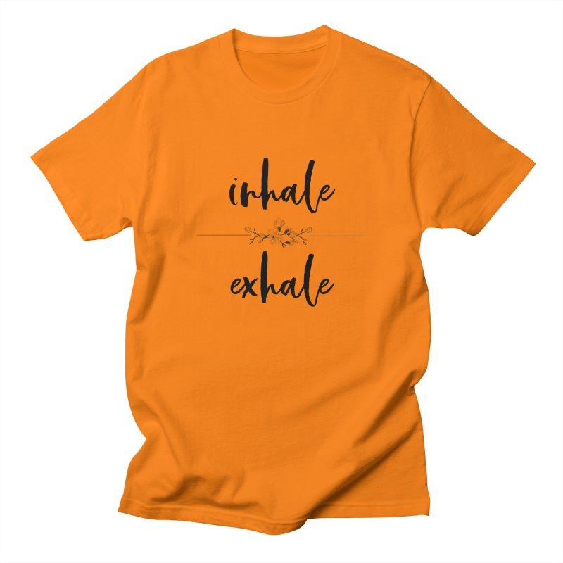 INHALE Men's T-Shirt by gasponce
