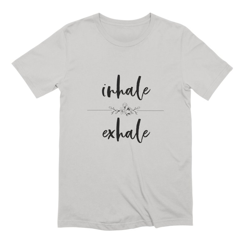 INHALE Men's Extra Soft T-Shirt by gasponce