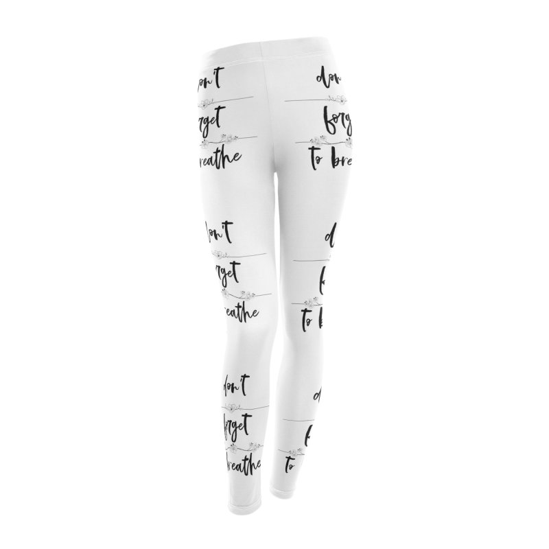 BREATHE! Women's Leggings Bottoms by gasponce