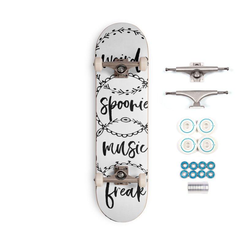 WEIRDO Accessories Skateboard by gasponce