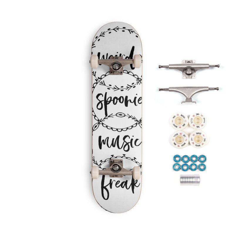 WEIRDO Accessories Complete - Premium Skateboard by gasponce
