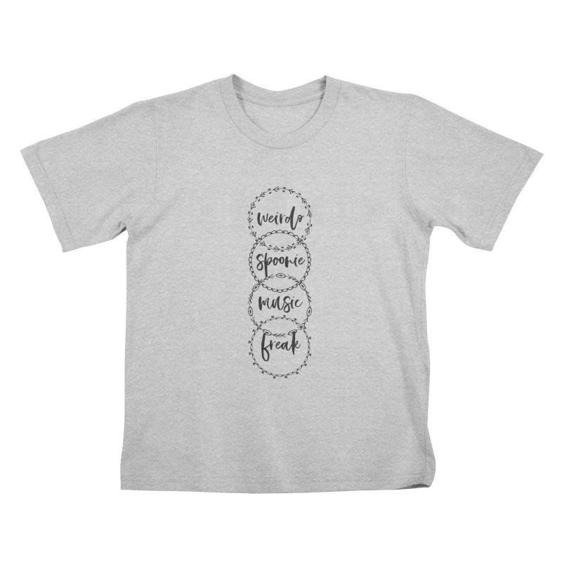 WEIRDO Kids T-Shirt by gasponce