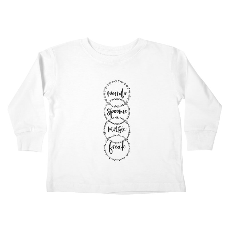 WEIRDO Kids Toddler Longsleeve T-Shirt by gasponce