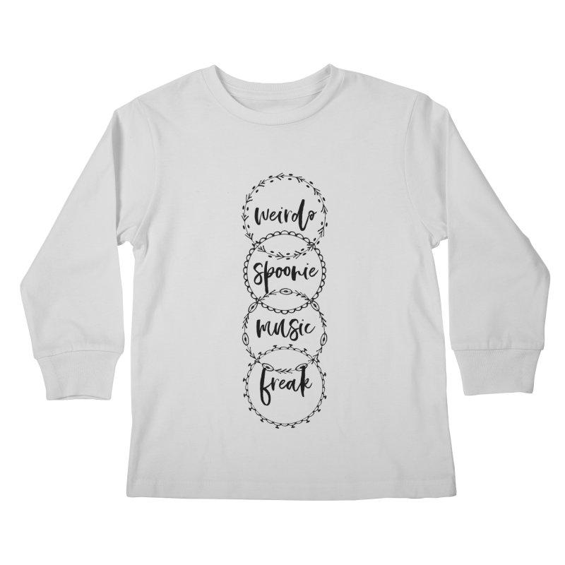 WEIRDO Kids Longsleeve T-Shirt by gasponce