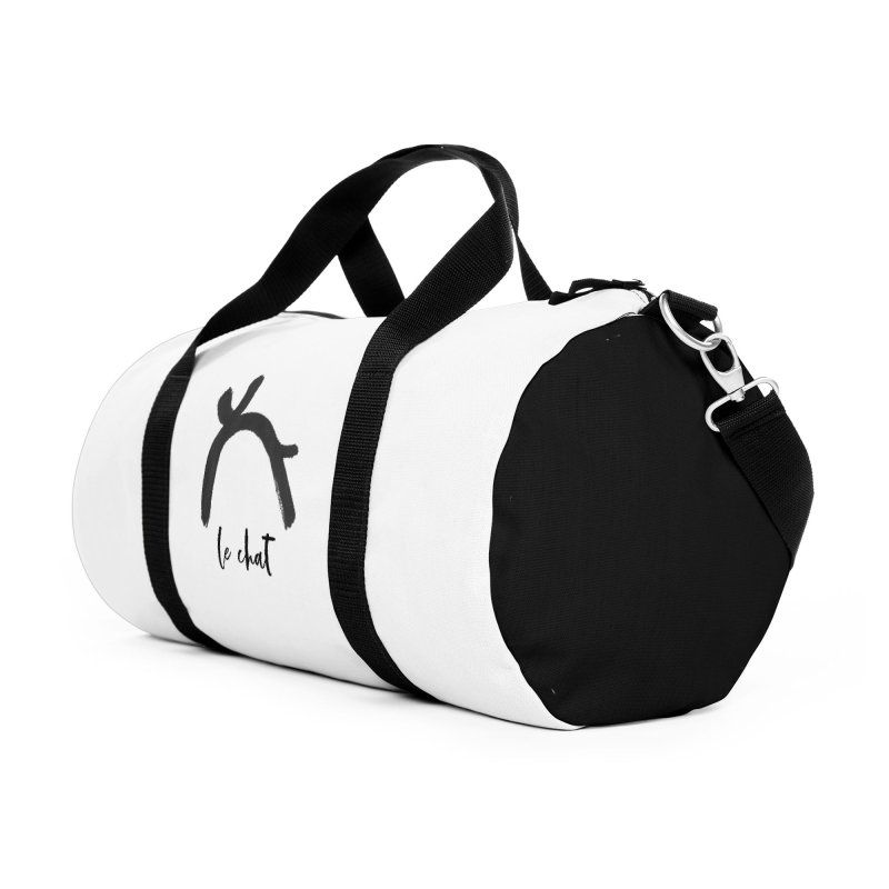LE CHAT! Accessories Duffel Bag Bag by gasponce