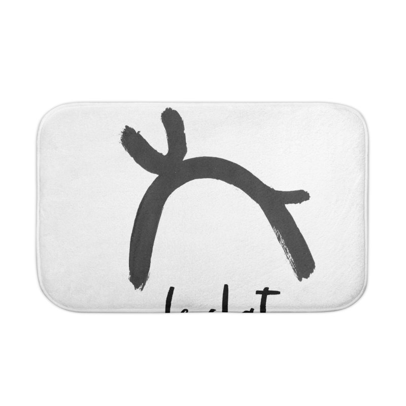 LE CHAT! Home Bath Mat by gasponce