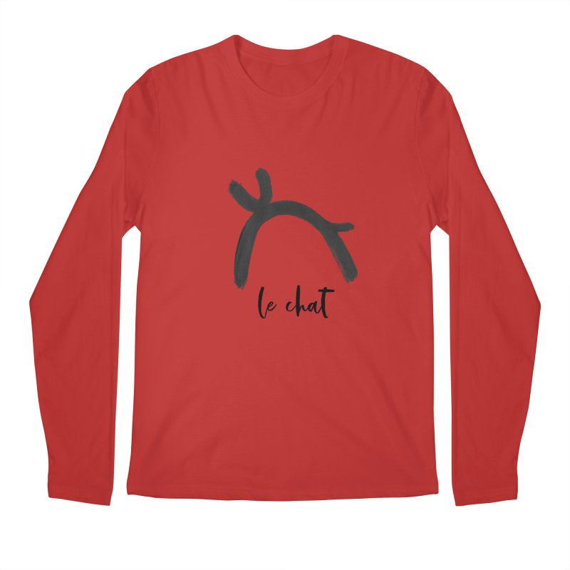 LE CHAT! Men's Regular Longsleeve T-Shirt by gasponce
