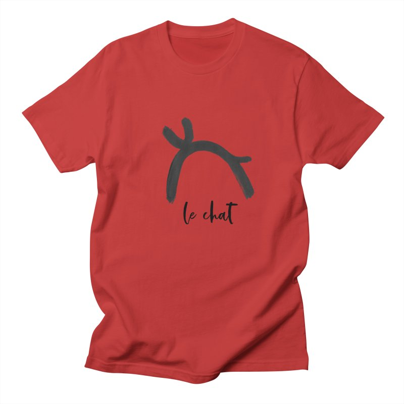 LE CHAT! Women's Regular Unisex T-Shirt by gasponce