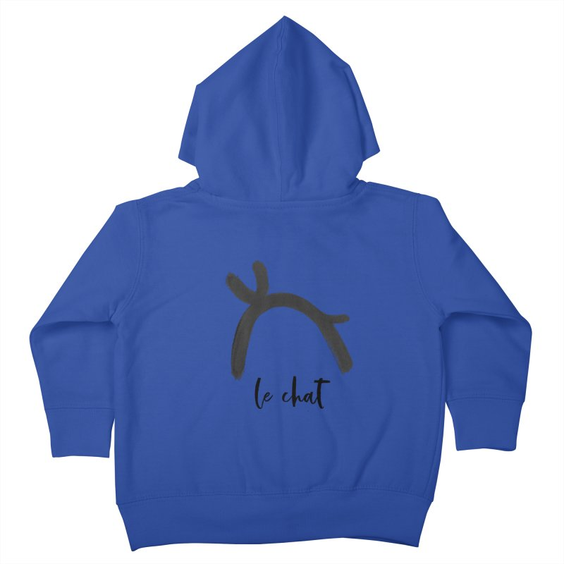 LE CHAT! Kids Toddler Zip-Up Hoody by gasponce