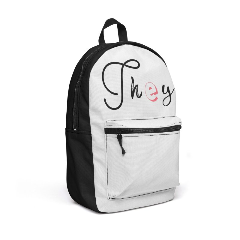 They! Accessories Backpack Bag by gasponce