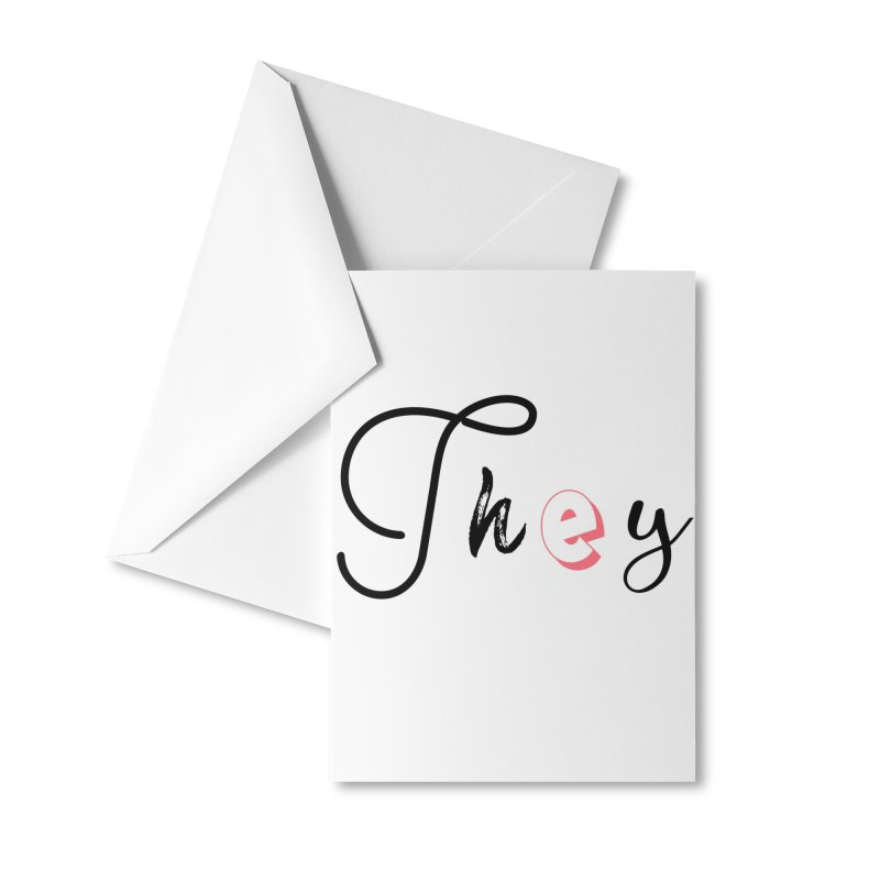 They! Accessories Greeting Card by gasponce