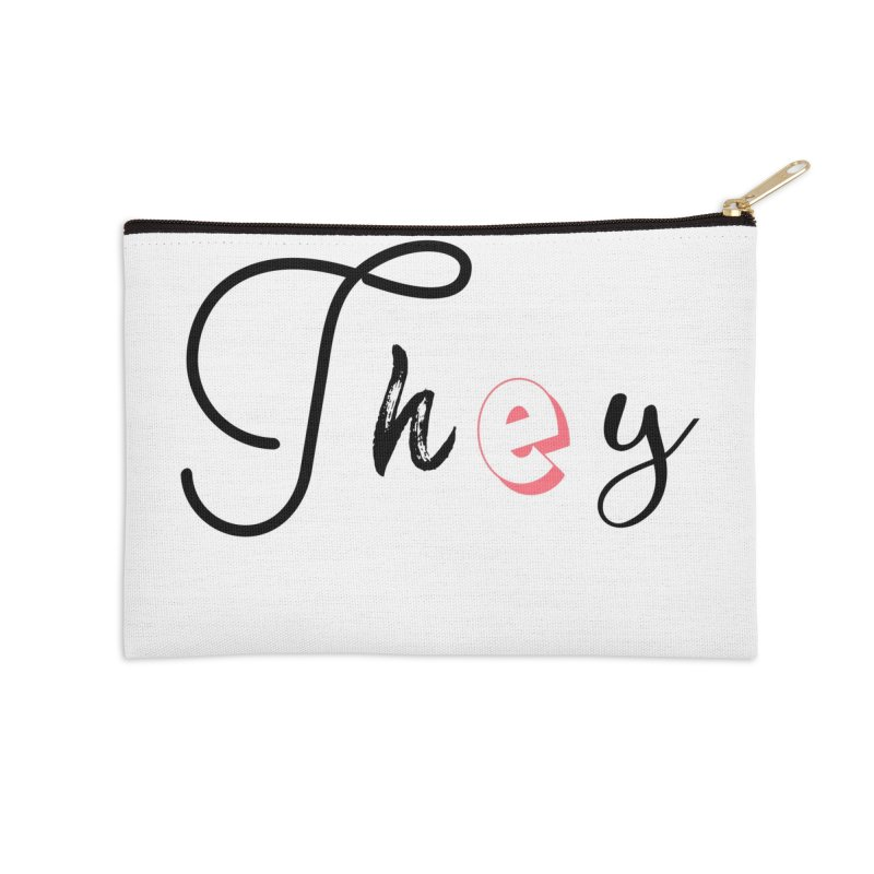 They! Accessories Zip Pouch by gasponce