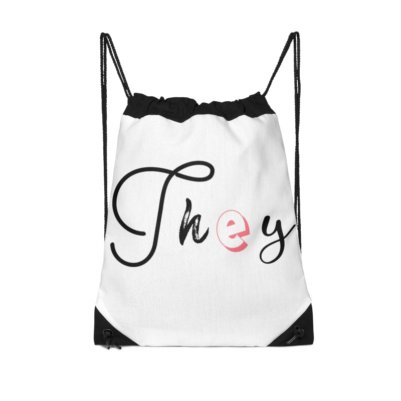 They! Accessories Bag by gasponce