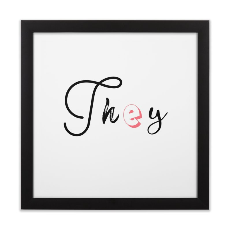 They! Home Framed Fine Art Print by gasponce