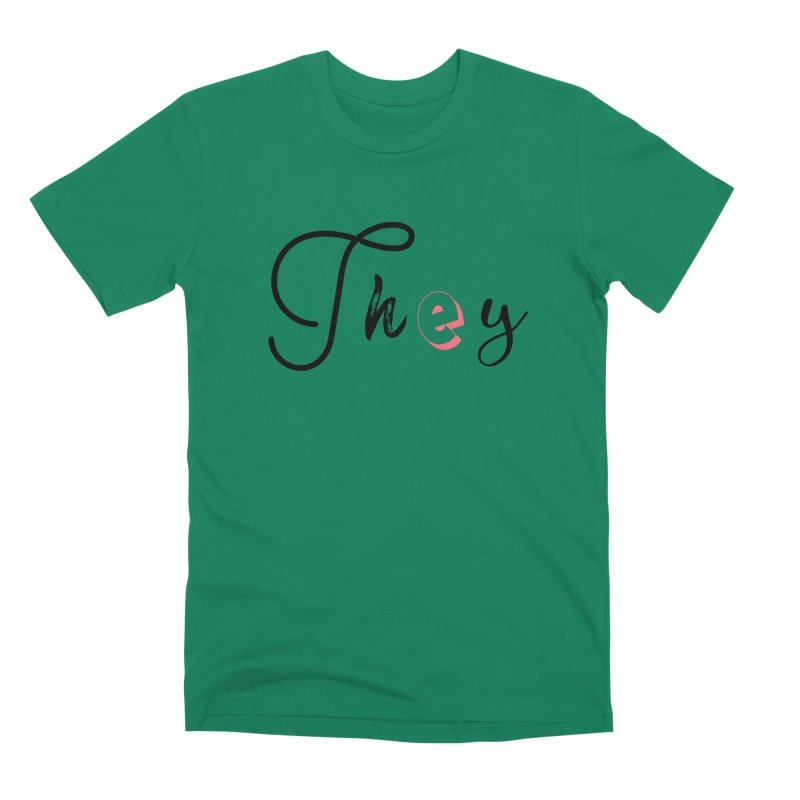 They! Men's Premium T-Shirt by gasponce