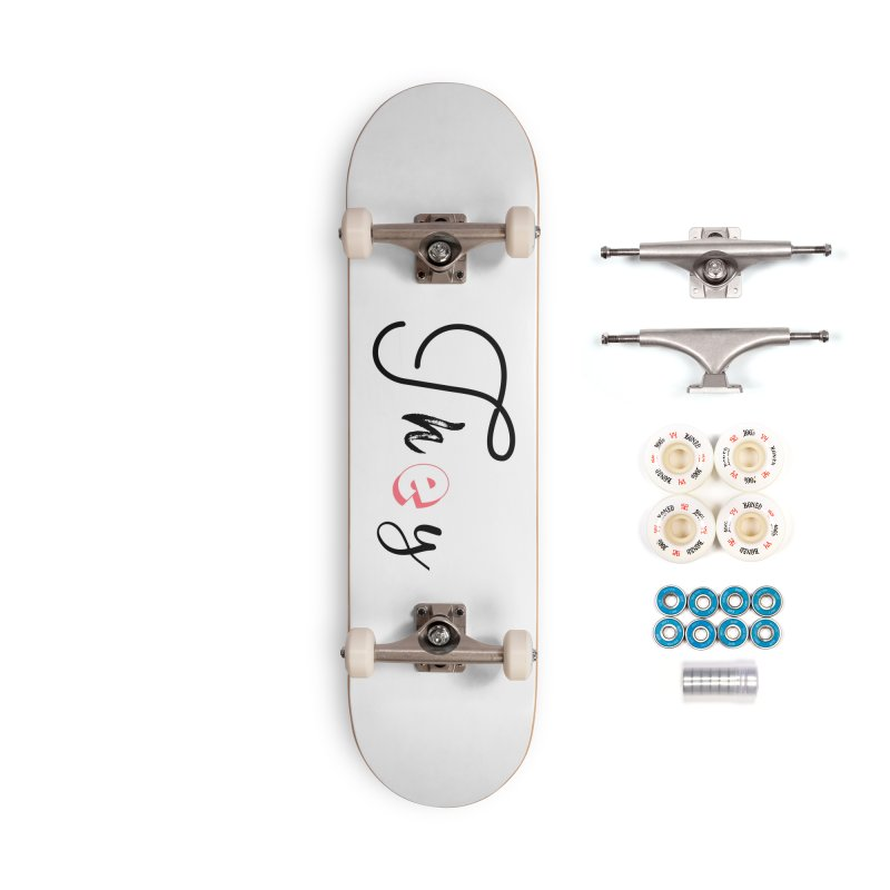 They! Accessories Complete - Premium Skateboard by gasponce