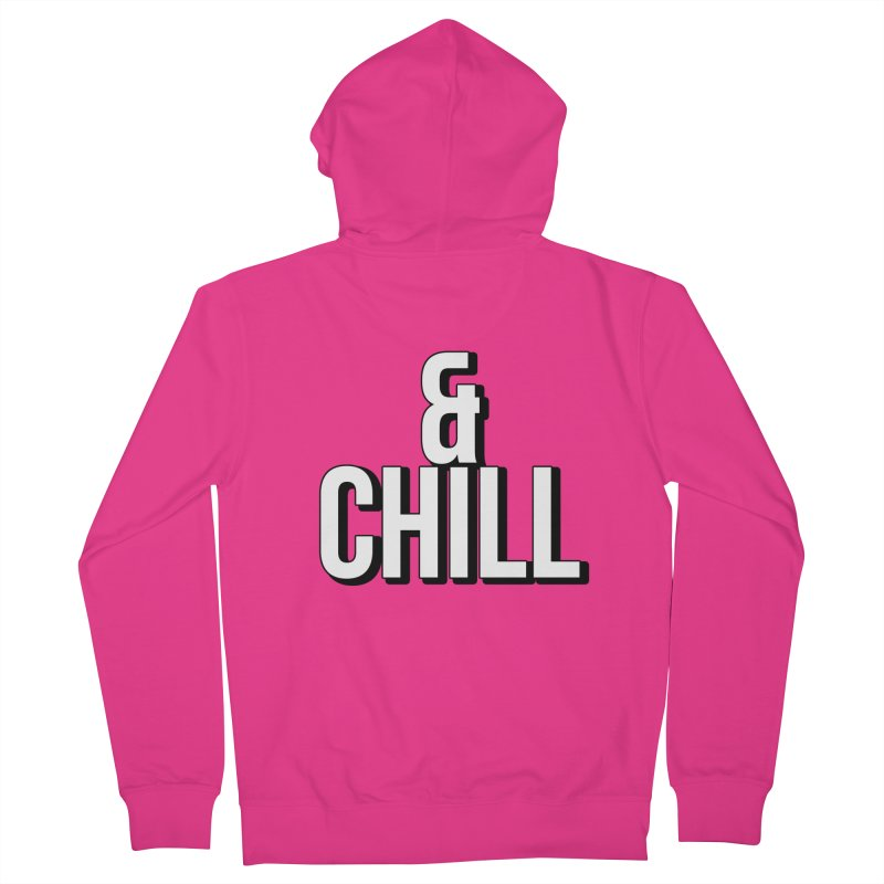 & CHILL ! Men's Zip-Up Hoody by gasponce