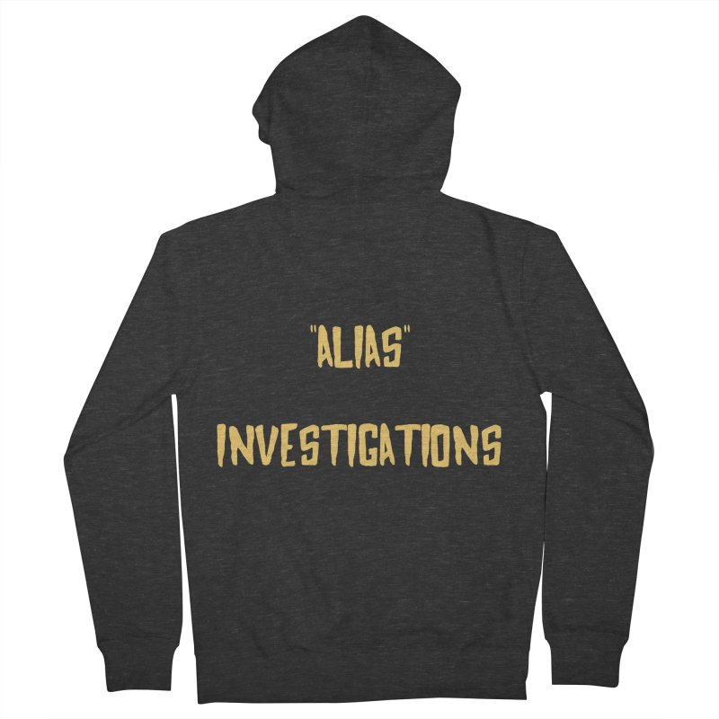 """Alias"" Men's Zip-Up Hoody by gasponce"