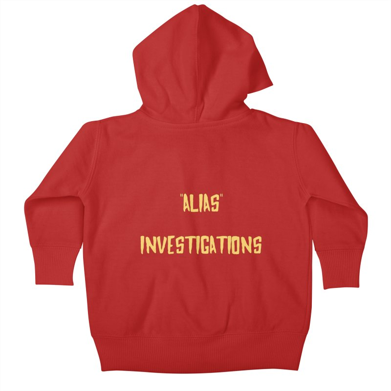 """Alias"" Kids Baby Zip-Up Hoody by gasponce"