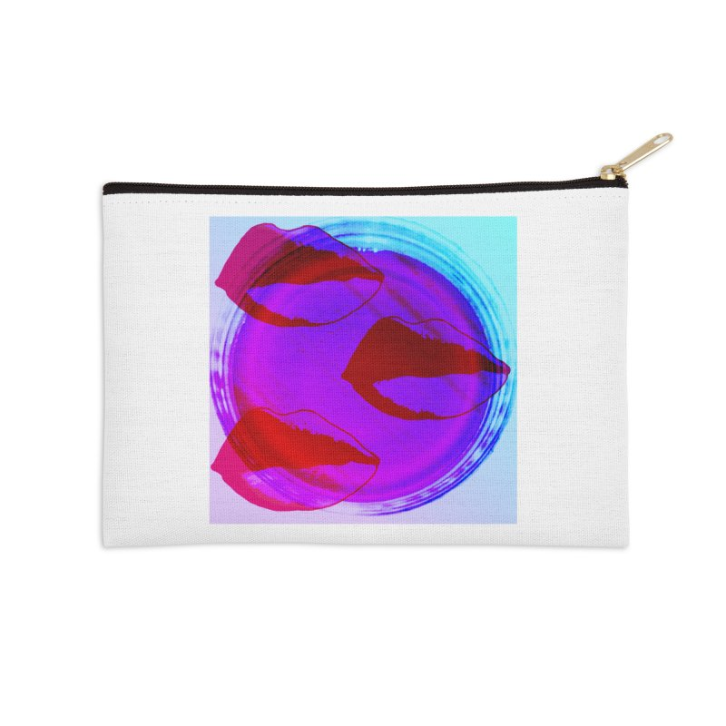 JELLO LIPS Accessories Zip Pouch by gasponce
