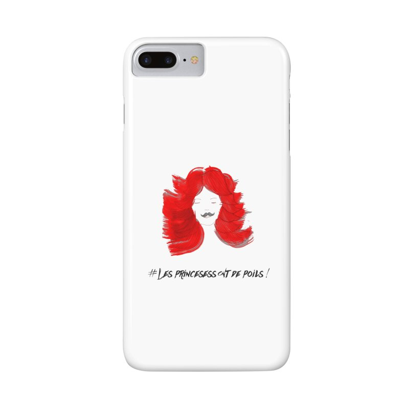 PRINCESS HAIR! white Accessories Phone Case by gasponce