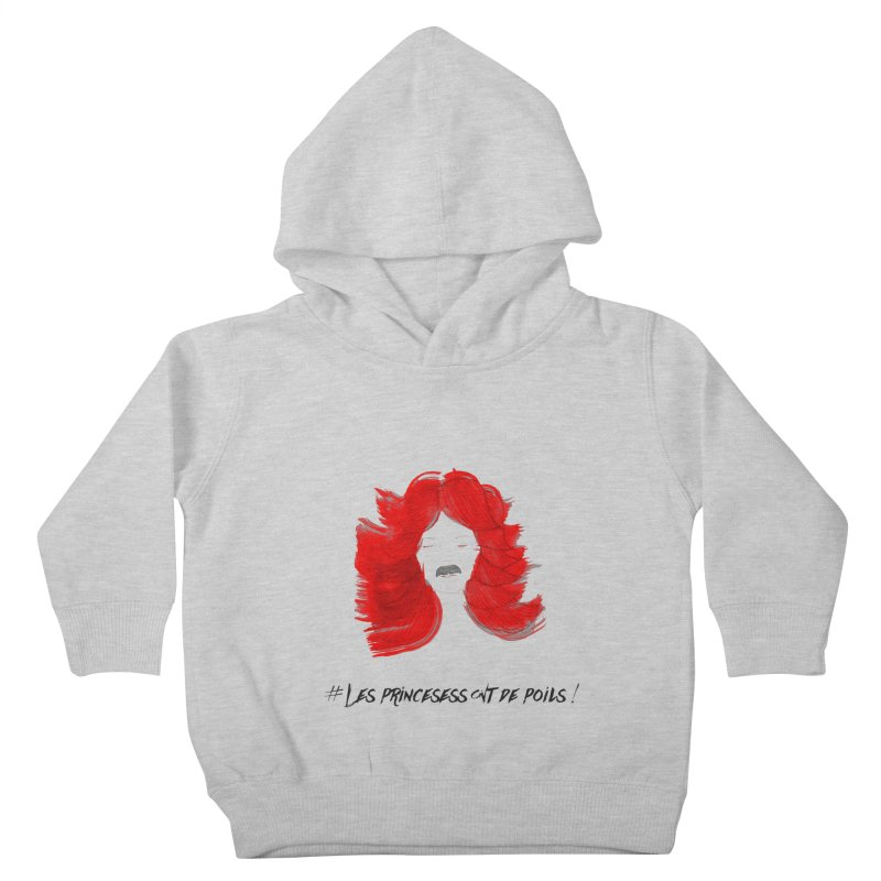 PRINCESS HAIR! Kids Toddler Pullover Hoody by gasponce