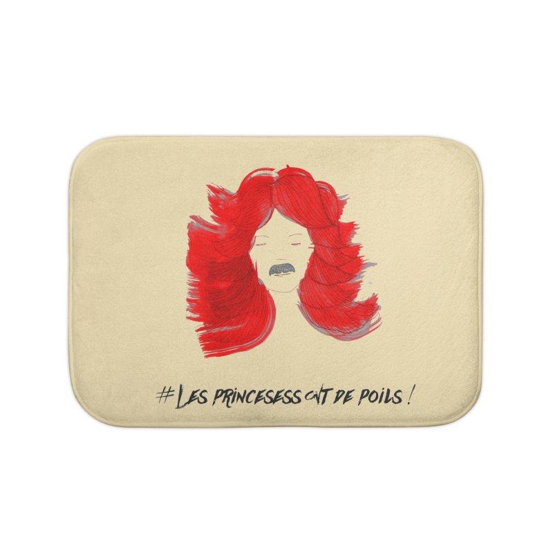 PRINCESS HAIR! Home Bath Mat by gasponce