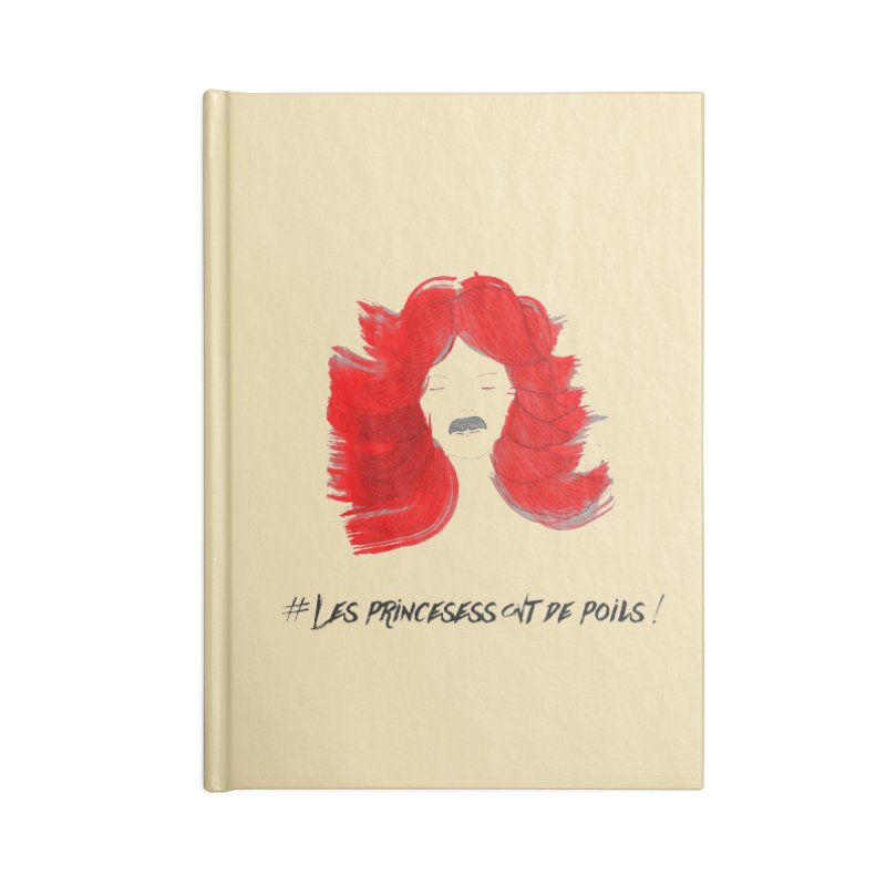 PRINCESS HAIR! Accessories Notebook by gasponce