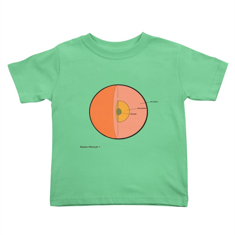 THE FUTURE Kids Toddler T-Shirt by gasponce