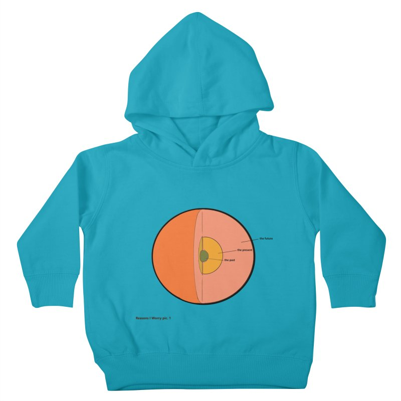 THE FUTURE Kids Toddler Pullover Hoody by gasponce