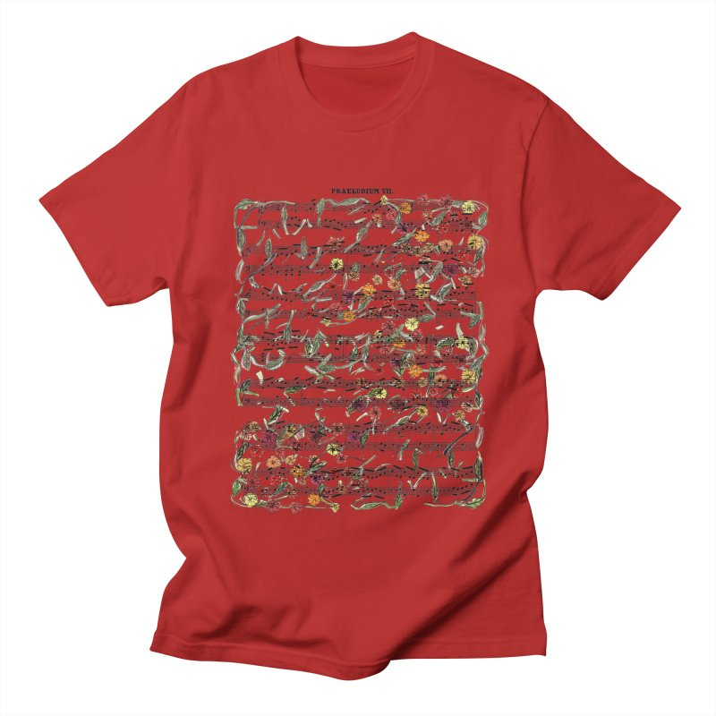 PRELUDE & FLOWERS Women's Unisex T-Shirt by gasponce