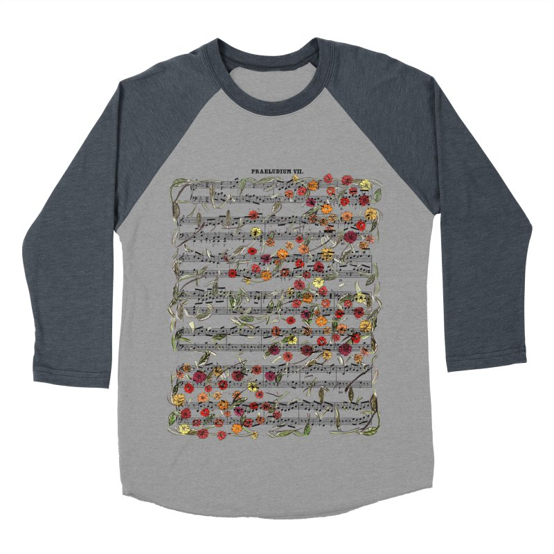 PRELUDE & FLOWERS Women's Baseball Triblend T-Shirt by gasponce
