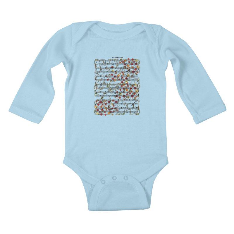 PRELUDE & FLOWERS Kids Baby Longsleeve Bodysuit by gasponce